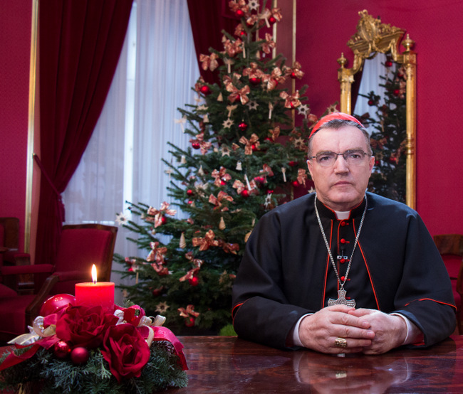 elektronska božićna čestitka Kardinalova božićna čestitka posredstvom elektronskih medija  elektronska božićna čestitka