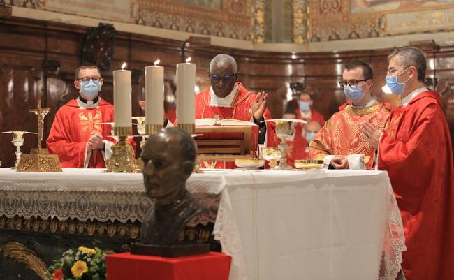 Slikovni rezultat za FOTO Kardinal Sarah predvodio slavlje Stepinčeva u Rimu